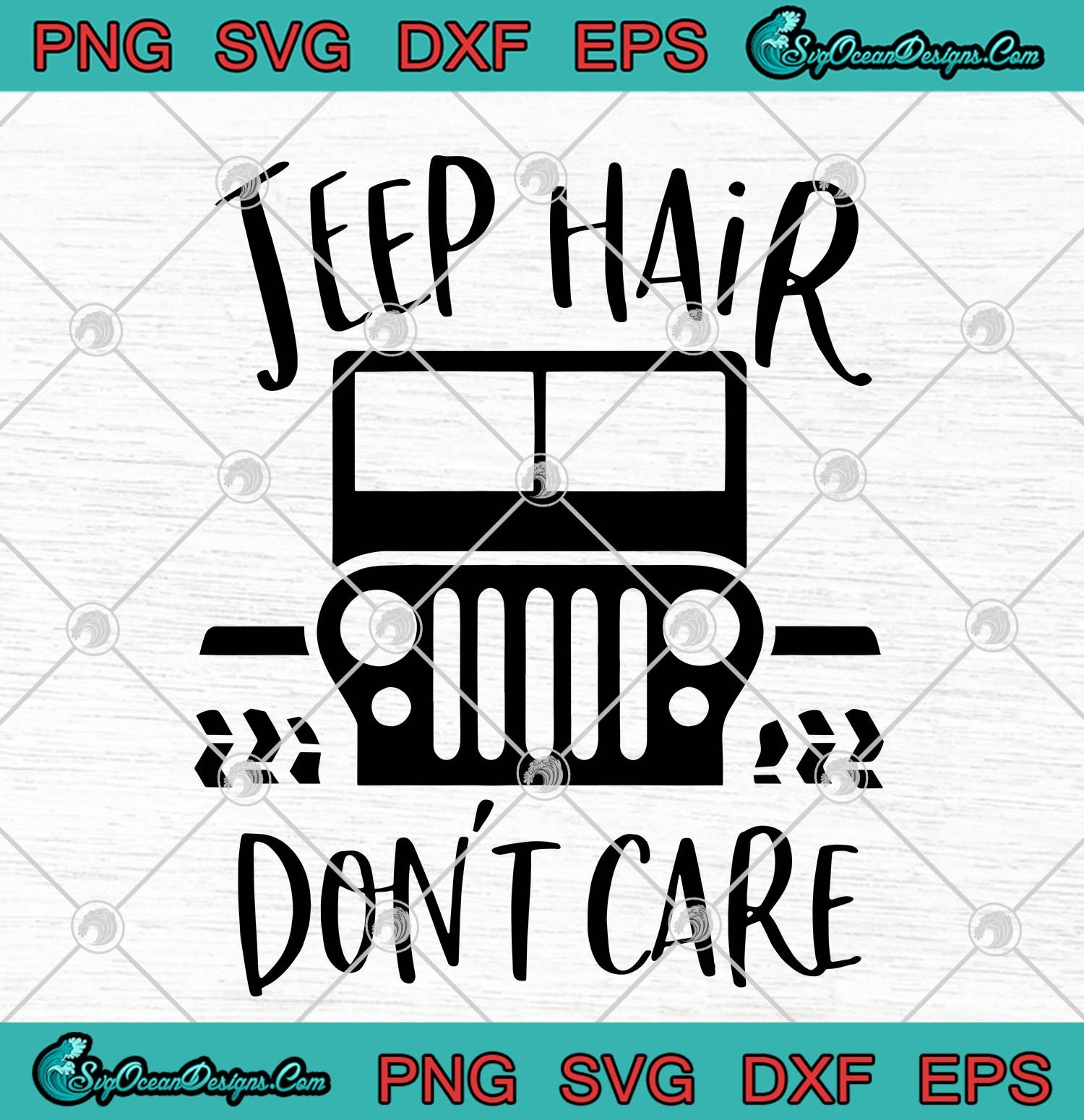 jeep hair don't care svg #577, Download drawings