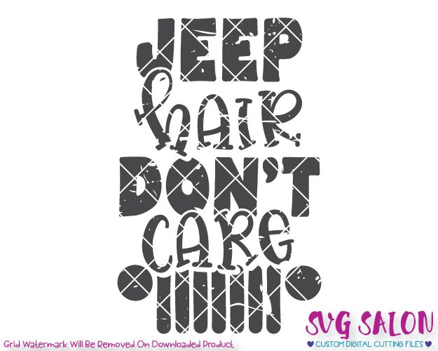jeep hair don't care svg #580, Download drawings