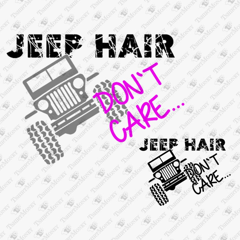 jeep hair don't care svg #579, Download drawings