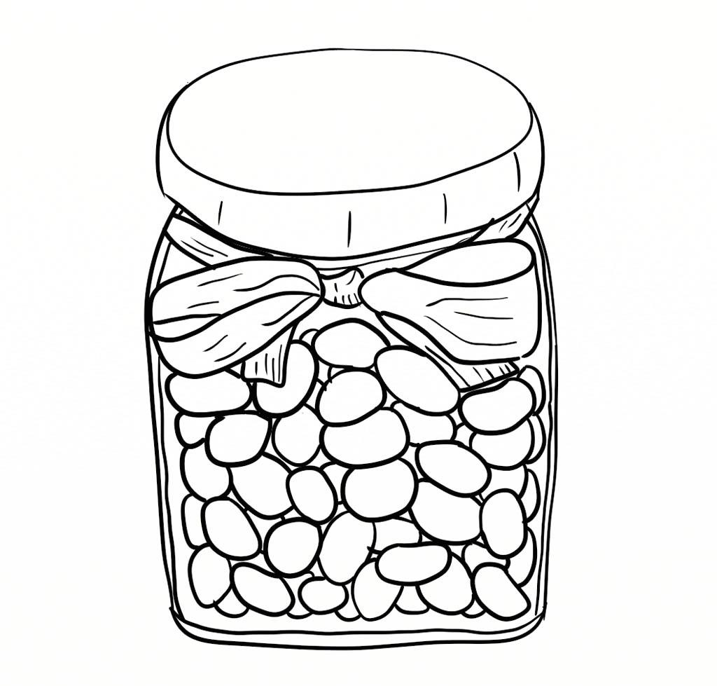 Jar coloring #3, Download drawings