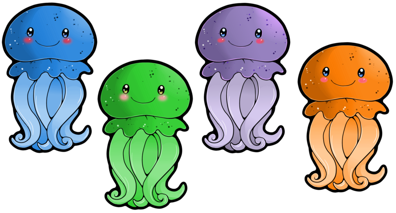 Jellyfish clipart #2, Download drawings