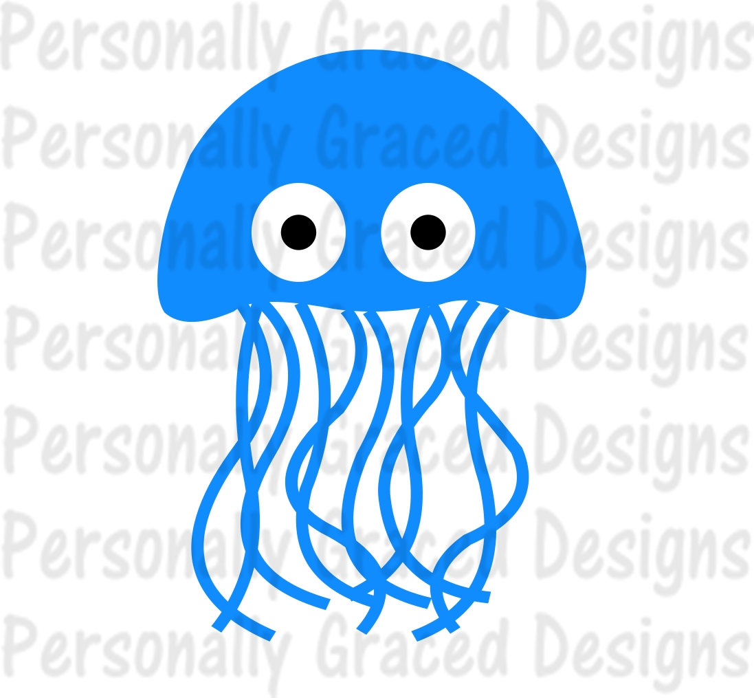 Jellyfish svg #11, Download drawings