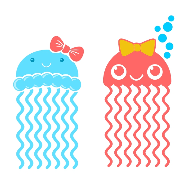 Jellyfish svg #19, Download drawings