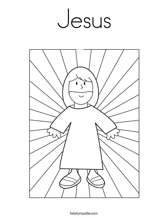 Jesus coloring #7, Download drawings