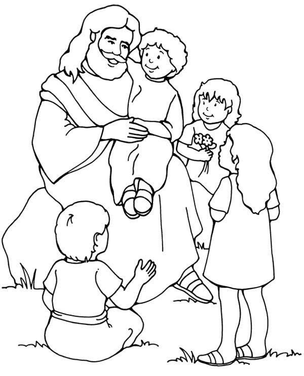 Jesus coloring #18, Download drawings