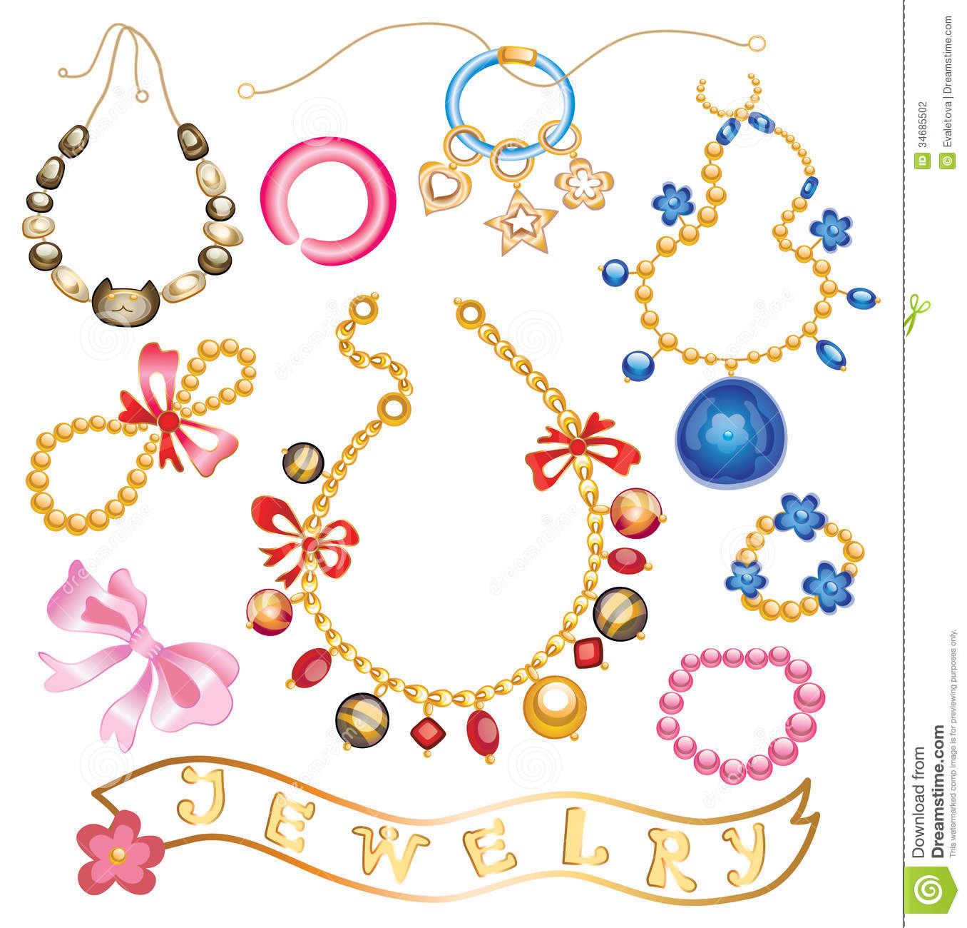 Jewelry clipart #14, Download drawings