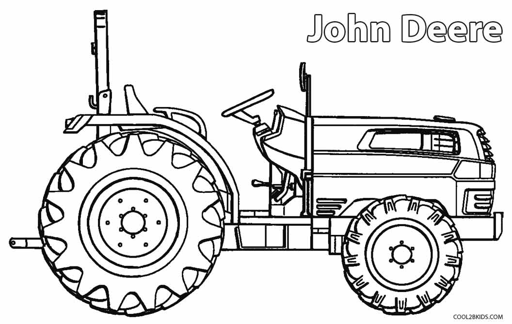 John Deere coloring #2, Download drawings