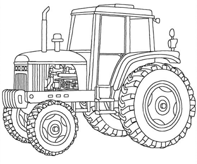 John Deere coloring #8, Download drawings