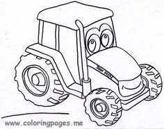 John Deere coloring #15, Download drawings