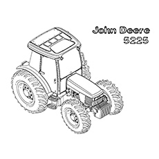 John Deere coloring #16, Download drawings