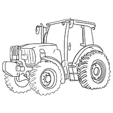 John Deere coloring #1, Download drawings