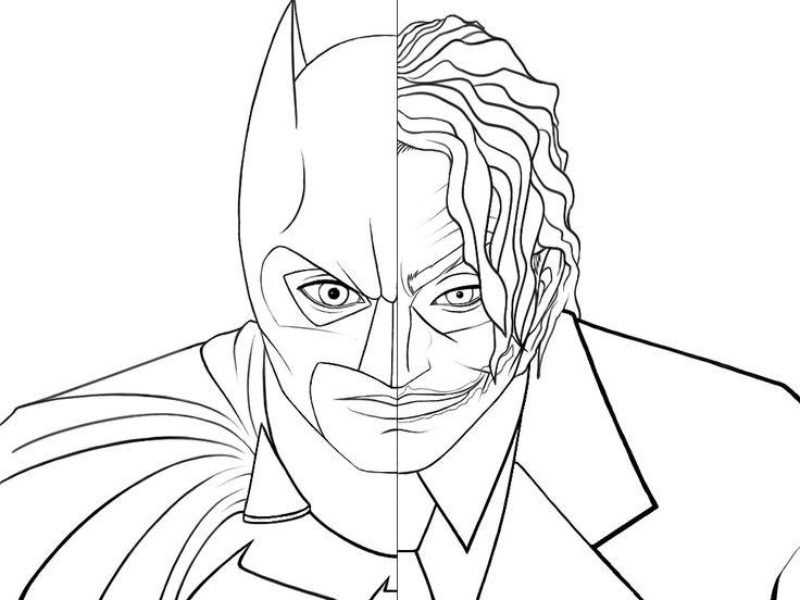 Joker coloring #17, Download drawings