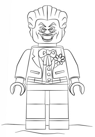Joker coloring #11, Download drawings