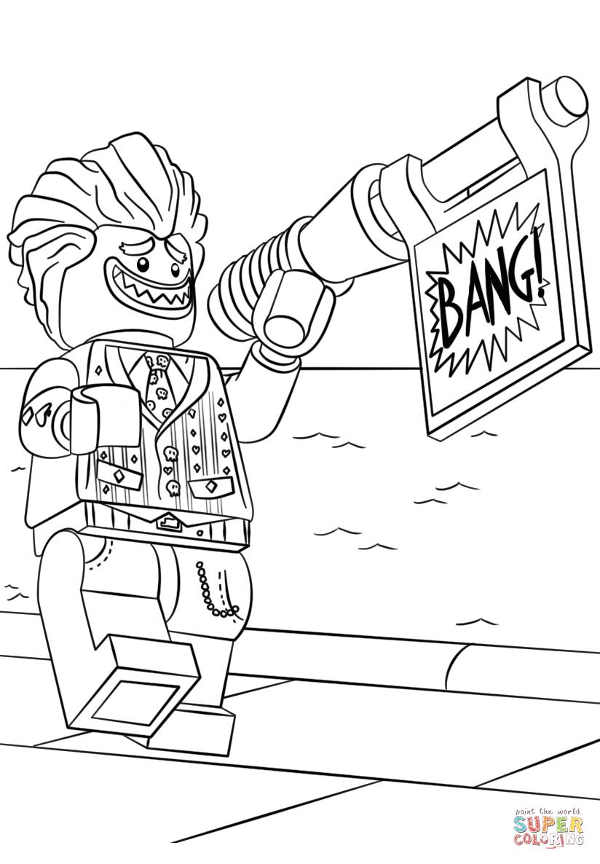 Joker coloring #7, Download drawings