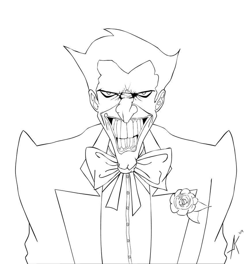 Joker coloring #12, Download drawings