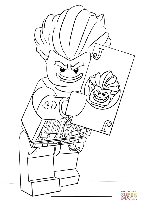 Joker coloring #3, Download drawings