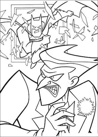 Joker coloring #1, Download drawings