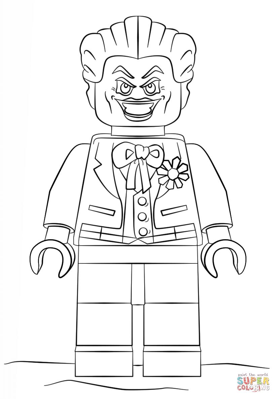 Joker coloring #15, Download drawings