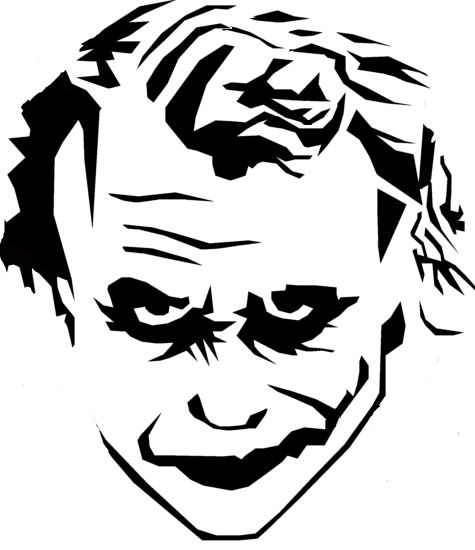 Joker svg #11, Download drawings