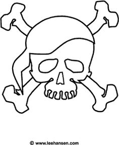 Jolly Roger coloring #9, Download drawings