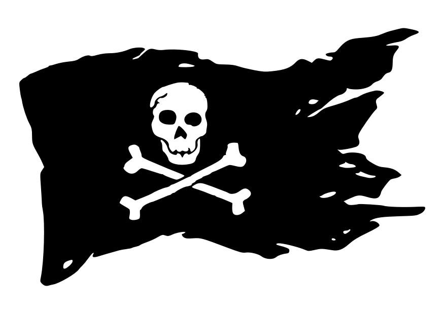 Jolly Roger coloring #5, Download drawings