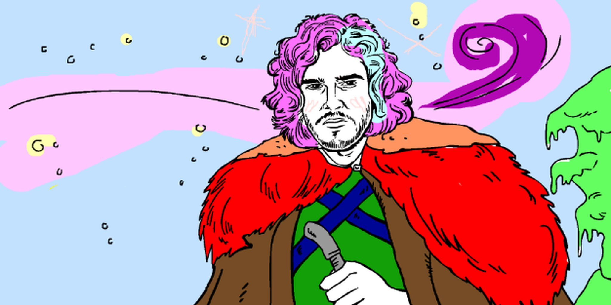 Jon Snow coloring #17, Download drawings