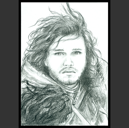 Jon Snow coloring #2, Download drawings