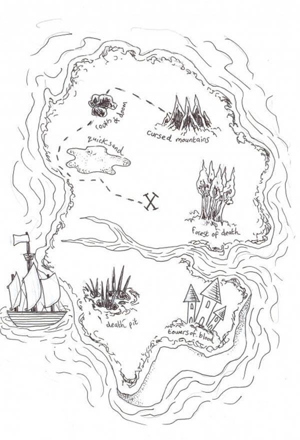 Jonhs Island coloring #7, Download drawings