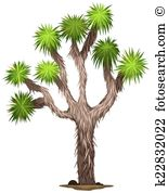 Joshua Tree clipart #1, Download drawings