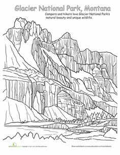 Joshua Tree National Park coloring #13, Download drawings