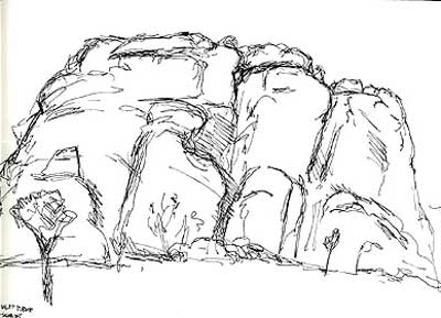 Joshua Tree National Park coloring #16, Download drawings