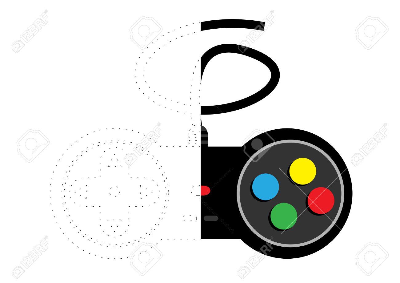 Joystick coloring #6, Download drawings