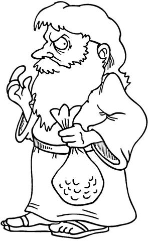 Judas coloring #6, Download drawings