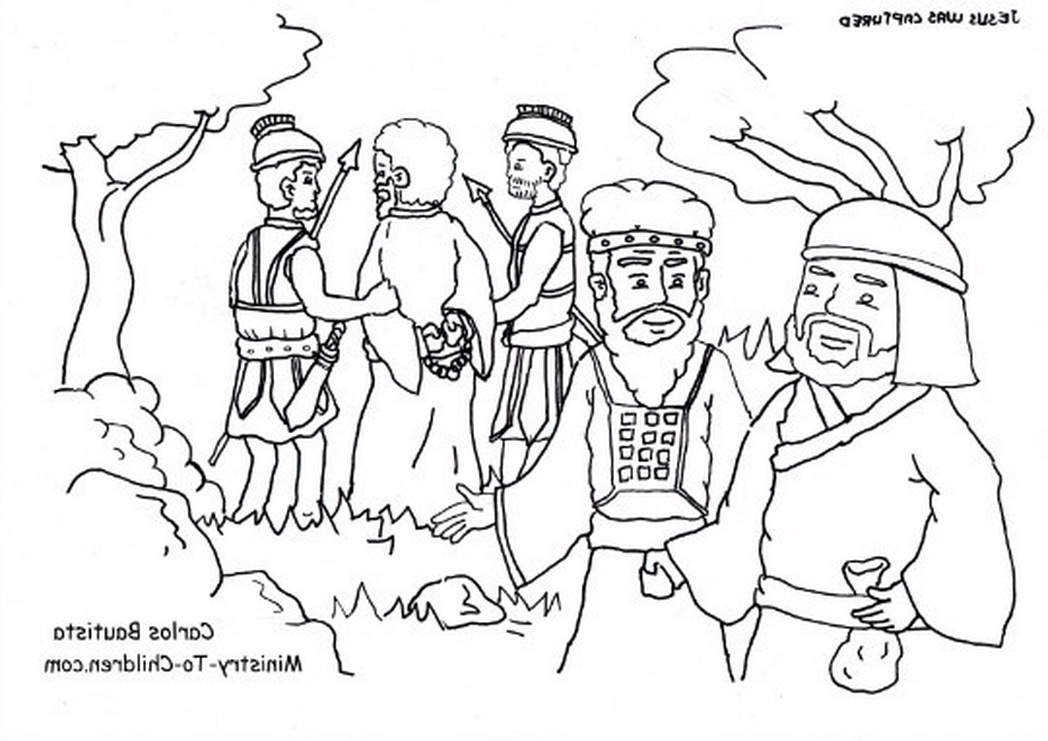 Judas coloring #5, Download drawings