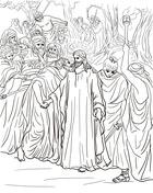 Judas coloring #7, Download drawings