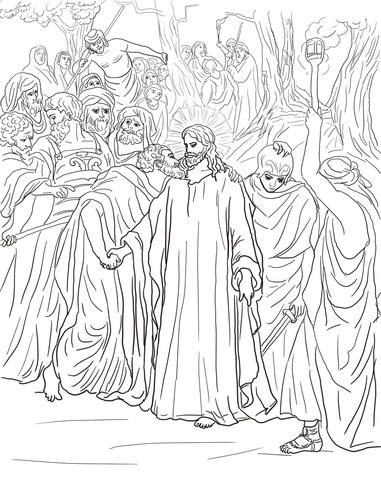 Judas coloring #1, Download drawings