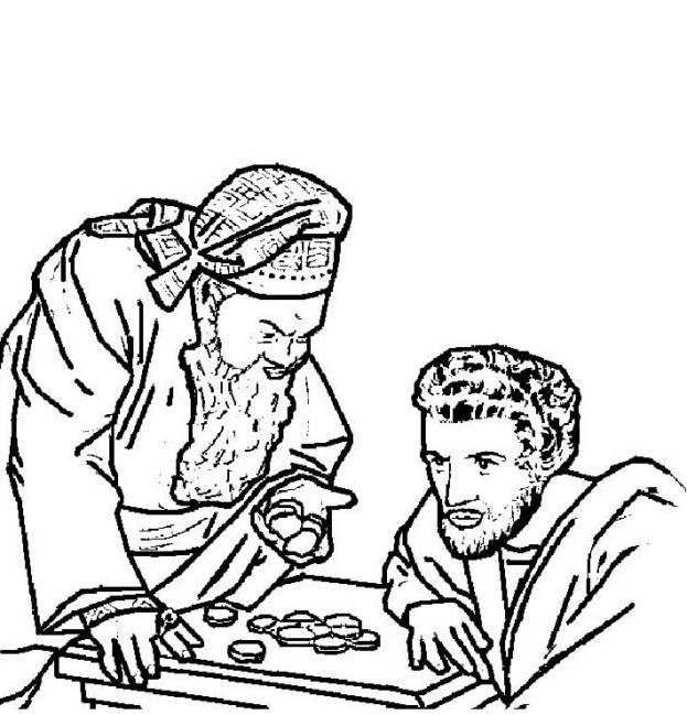 Judas coloring #10, Download drawings