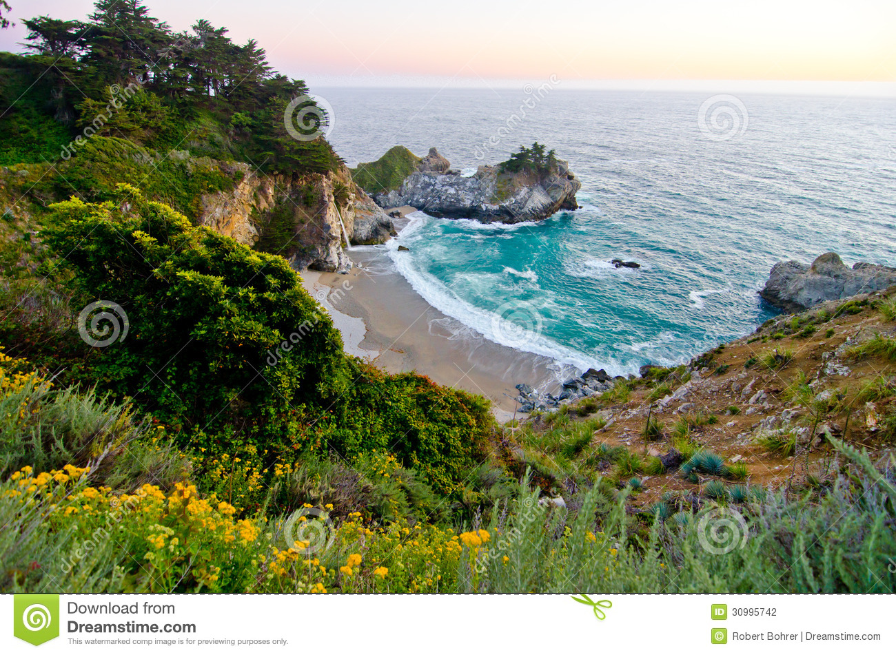 Julia Pfeiffer Burns State Park clipart #5, Download drawings