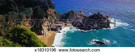 Julia Pfeiffer Burns State Park clipart #2, Download drawings