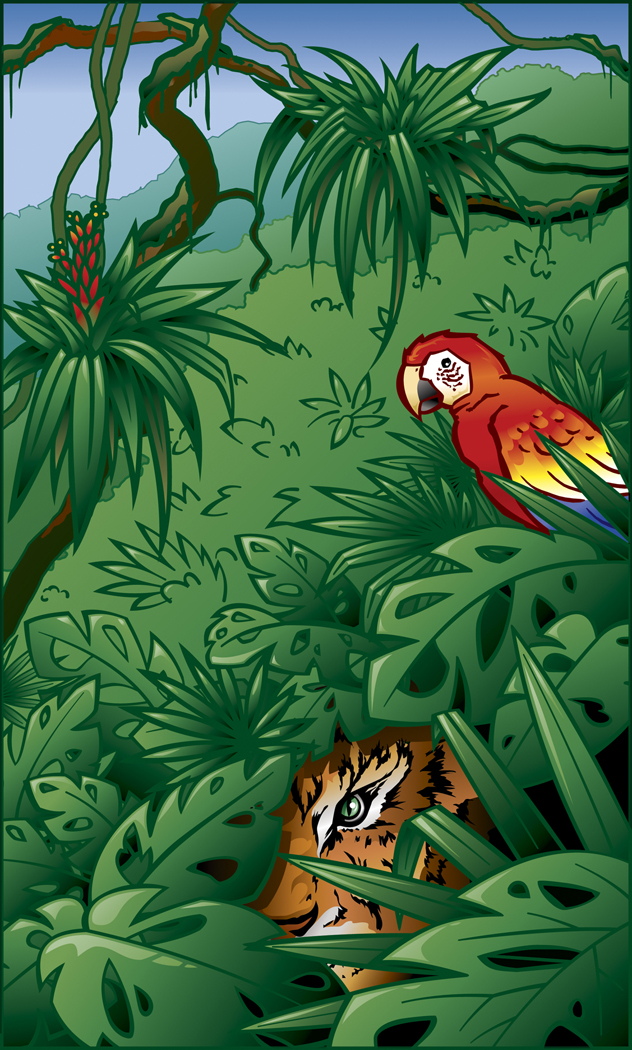 Jungle clipart #3, Download drawings