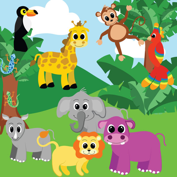 Jungle clipart #9, Download drawings