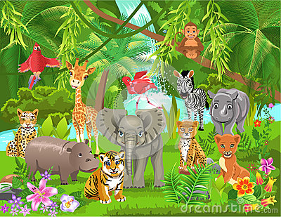 Jungle clipart #15, Download drawings