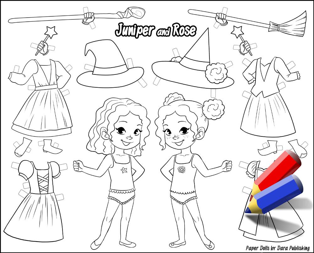 Juniper coloring #11, Download drawings