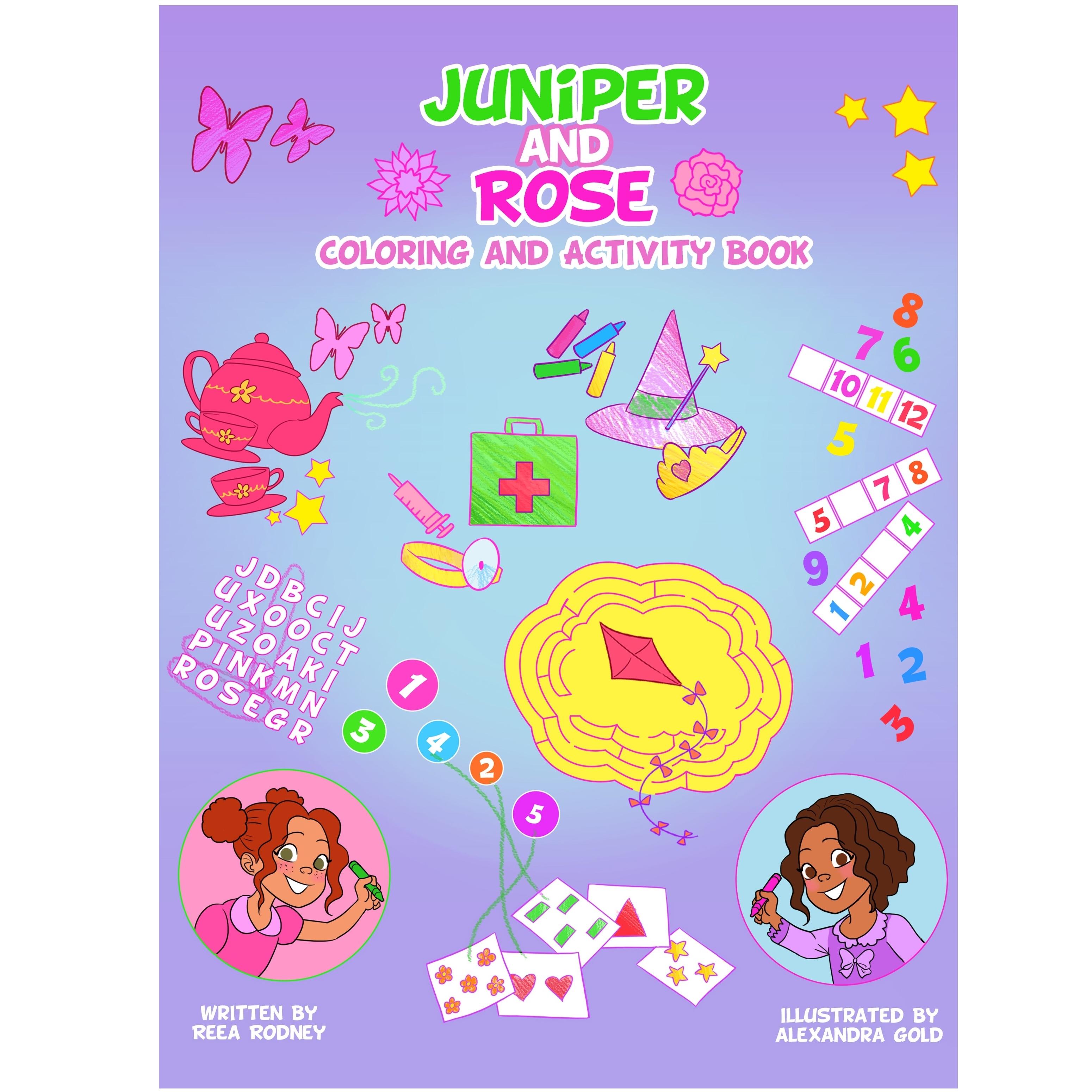Juniper coloring #15, Download drawings