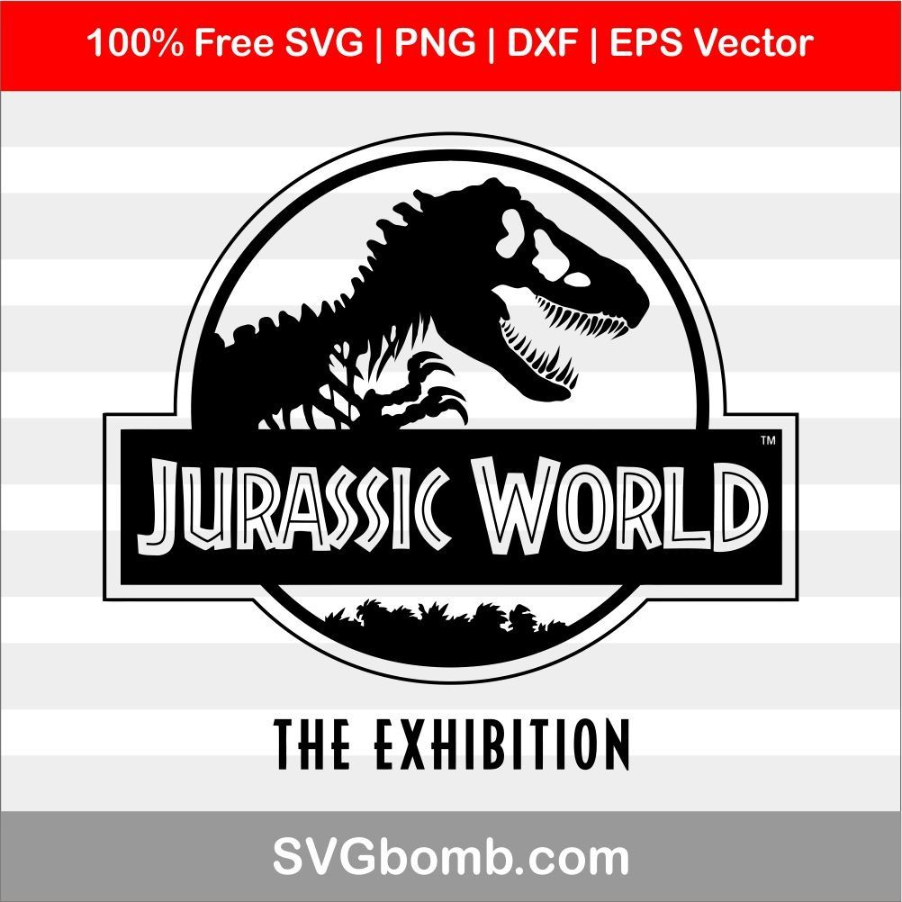 jurassic park logo svg #570, Download drawings