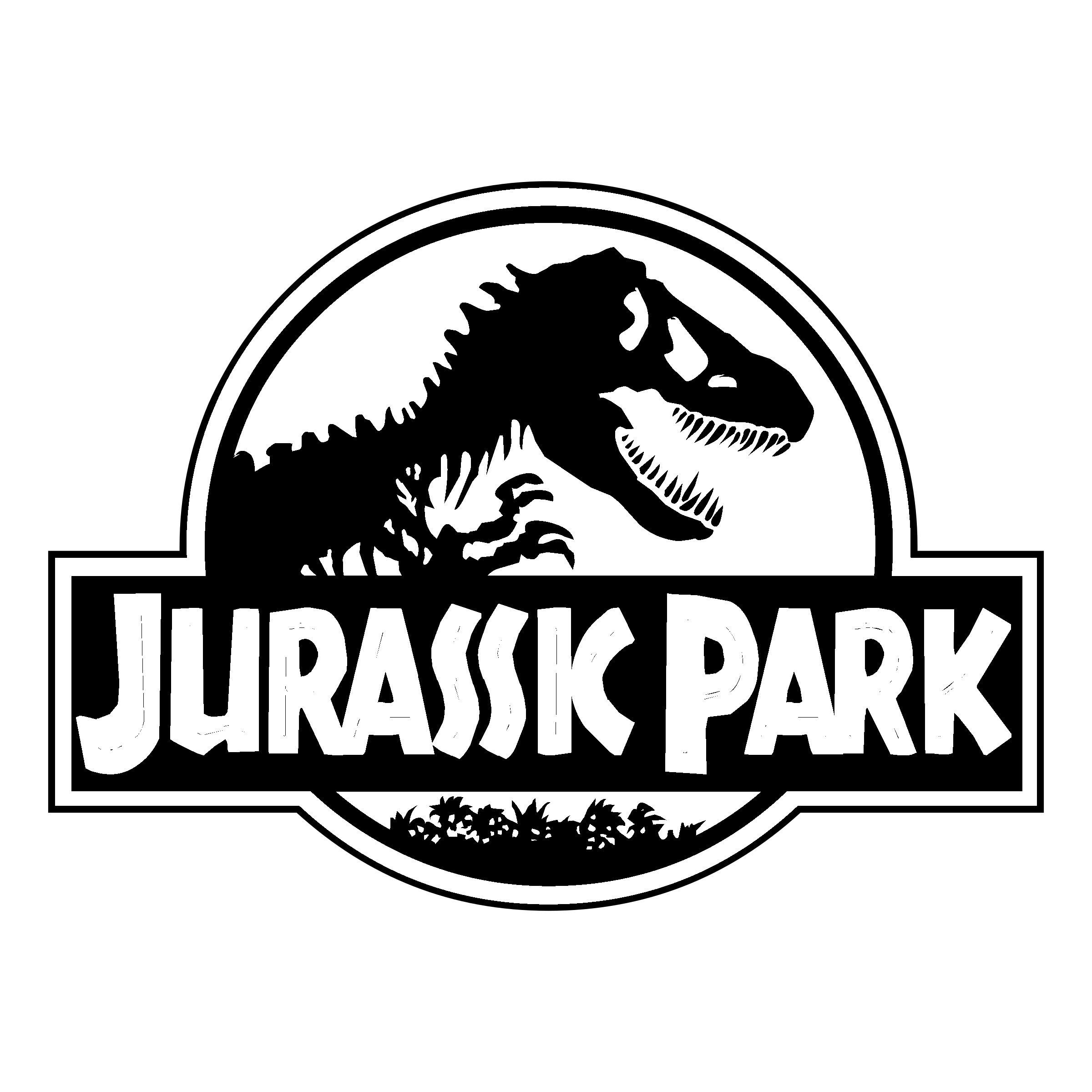 jurassic park logo svg #568, Download drawings