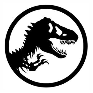 jurassic park logo svg #565, Download drawings
