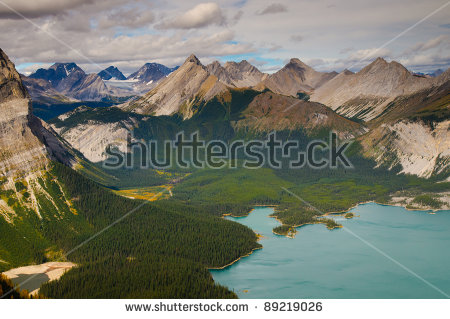Kananaskis Lakes clipart #9, Download drawings