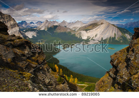 Kananaskis Lakes clipart #6, Download drawings