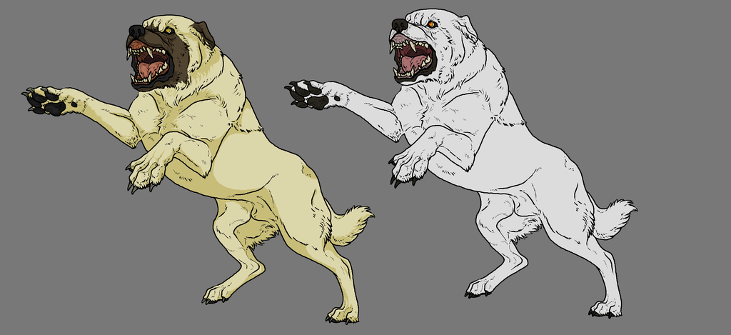 Kangal Dog clipart #10, Download drawings